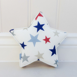 Fabric Star Set handmade to order! If you have any questions, or need any help with fabrics, please don't hesitate to get in touch! Thank you for supporting our small business 🖤 Samantha & Jaine - Lilymae Designs x ★ Lilymae Designs ★ We offer many items including Extra Large Fabric Letters in sizes 22cm tall, 25cm tall, 30cm tall, 40cm tall as well as custom sizes on request. Fabric Hearts, Butterflies, Stars, Birds, Bunting, Memo Boards, Extra Large Memo Boards, Cushions, Lampshades, Curtains and Roman Blinds Available in any of our Clarke and Clarke and Prestigious Textiles fabrics. Our personalised custom made to order products make great nursery decor, wall decor and home decor in any room. Also great gifts and presents, new baby, baby shower christening Little brother little sister niece nephew grandson godson granddaughter goddaughter first birthday children's birthday new home teacher dinner party gift mum present sister first home wedding best friends baby boy baby girl flower girl page boy bridesmaid rainbow baby mother's day, Mom, Nan, Auntie, Christmas xmas babys first Christmas daughter son Twins Fraternal Twins Handmade and made to order here in the UK