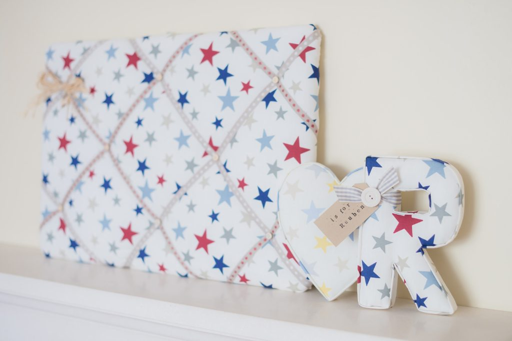 Fabric Memo Board Home Decor Kitchen Bedroom Gift Personalise Adorable Funky Memo Boards