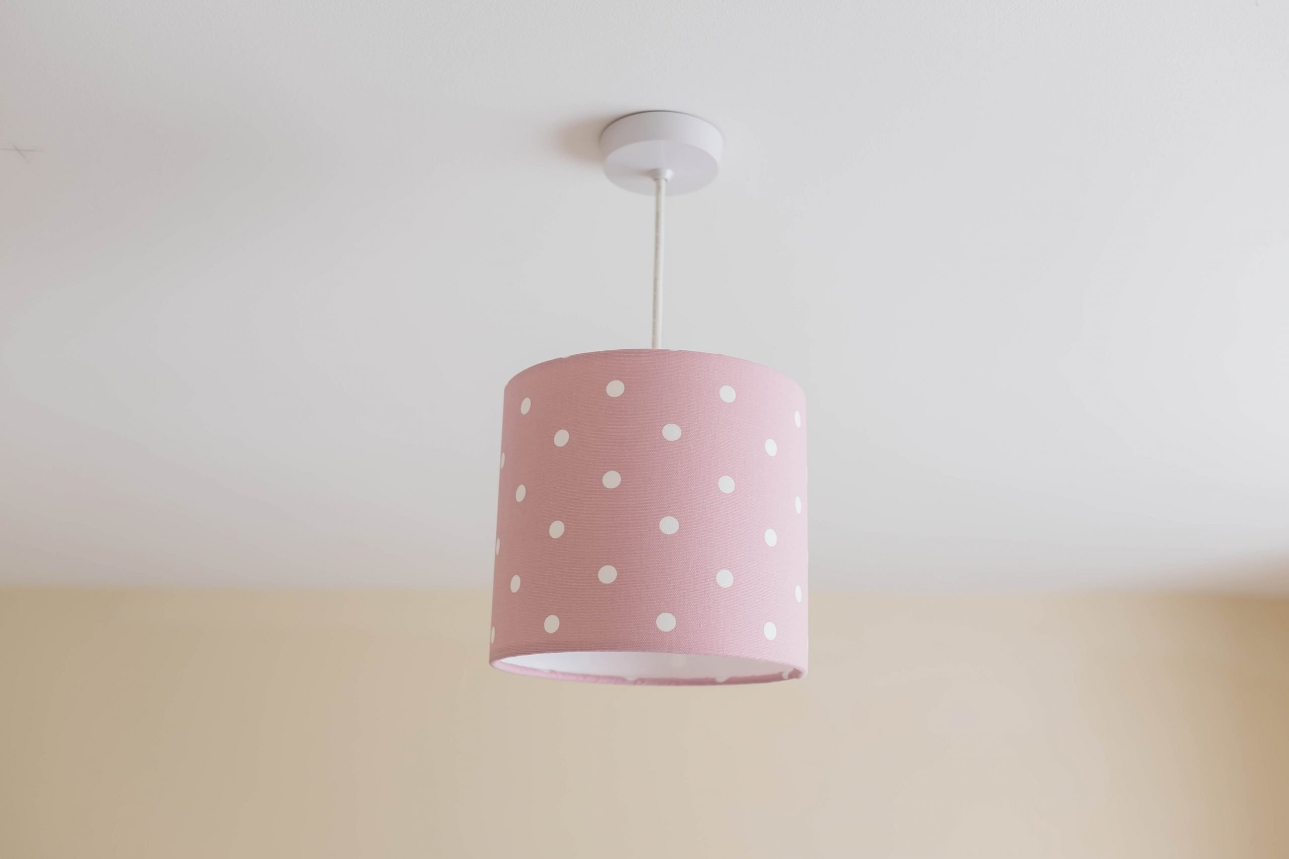 dotty rose lampshade