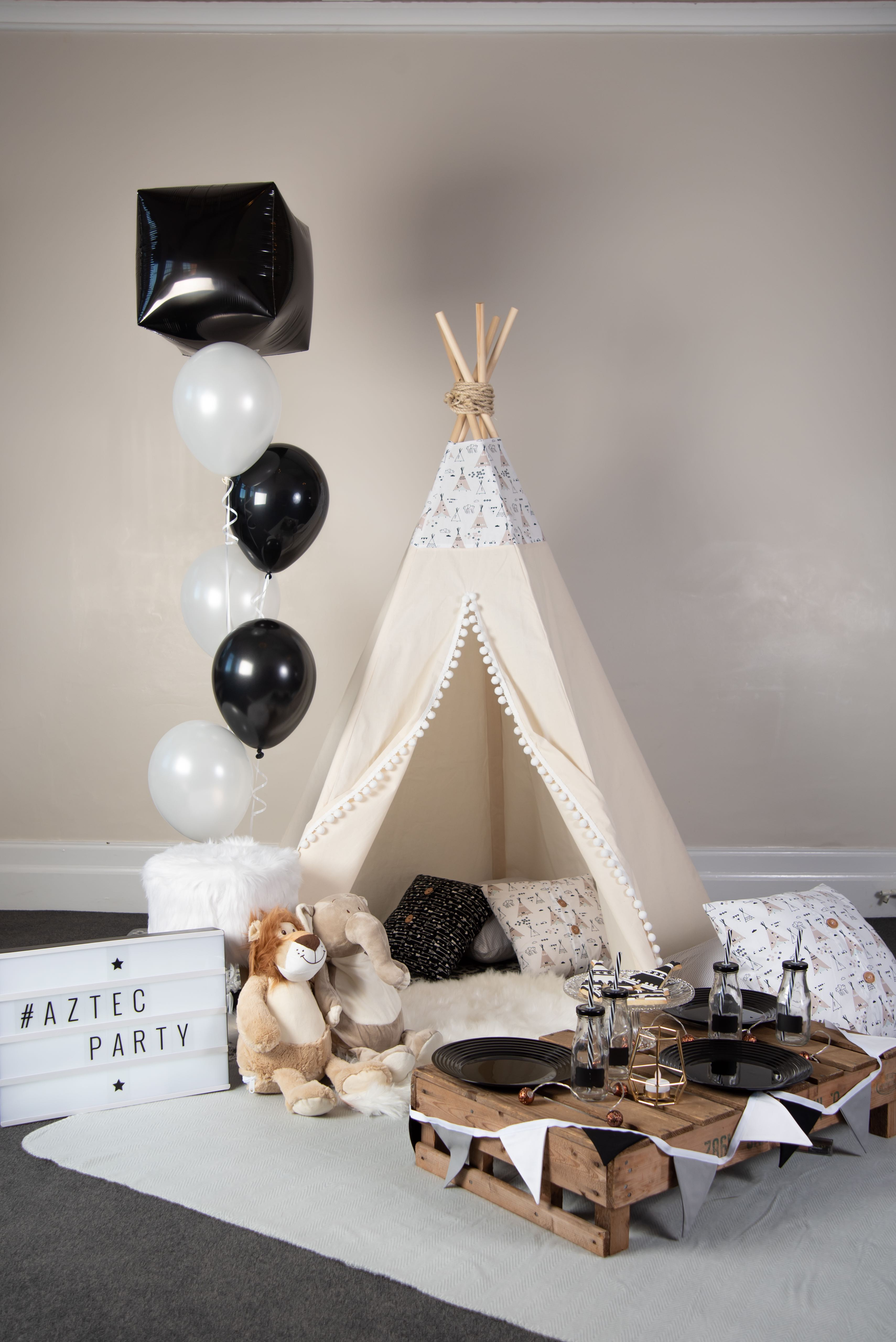 Teepee Party Pitch Boutique