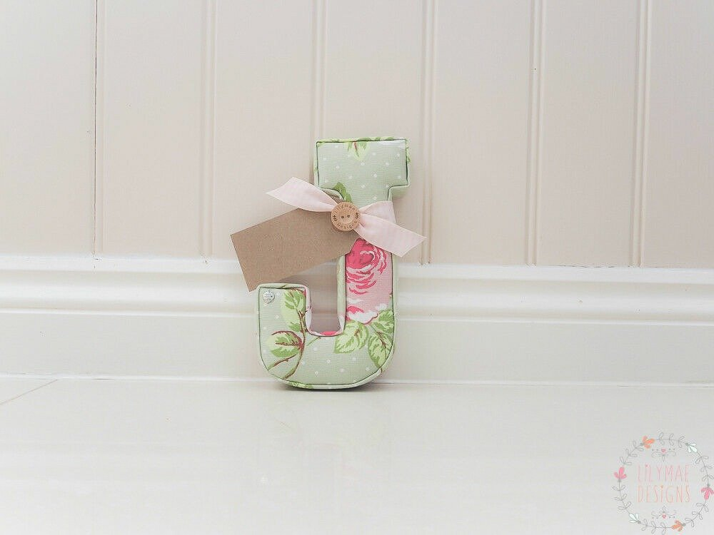 Available Now J in English Rose Sage