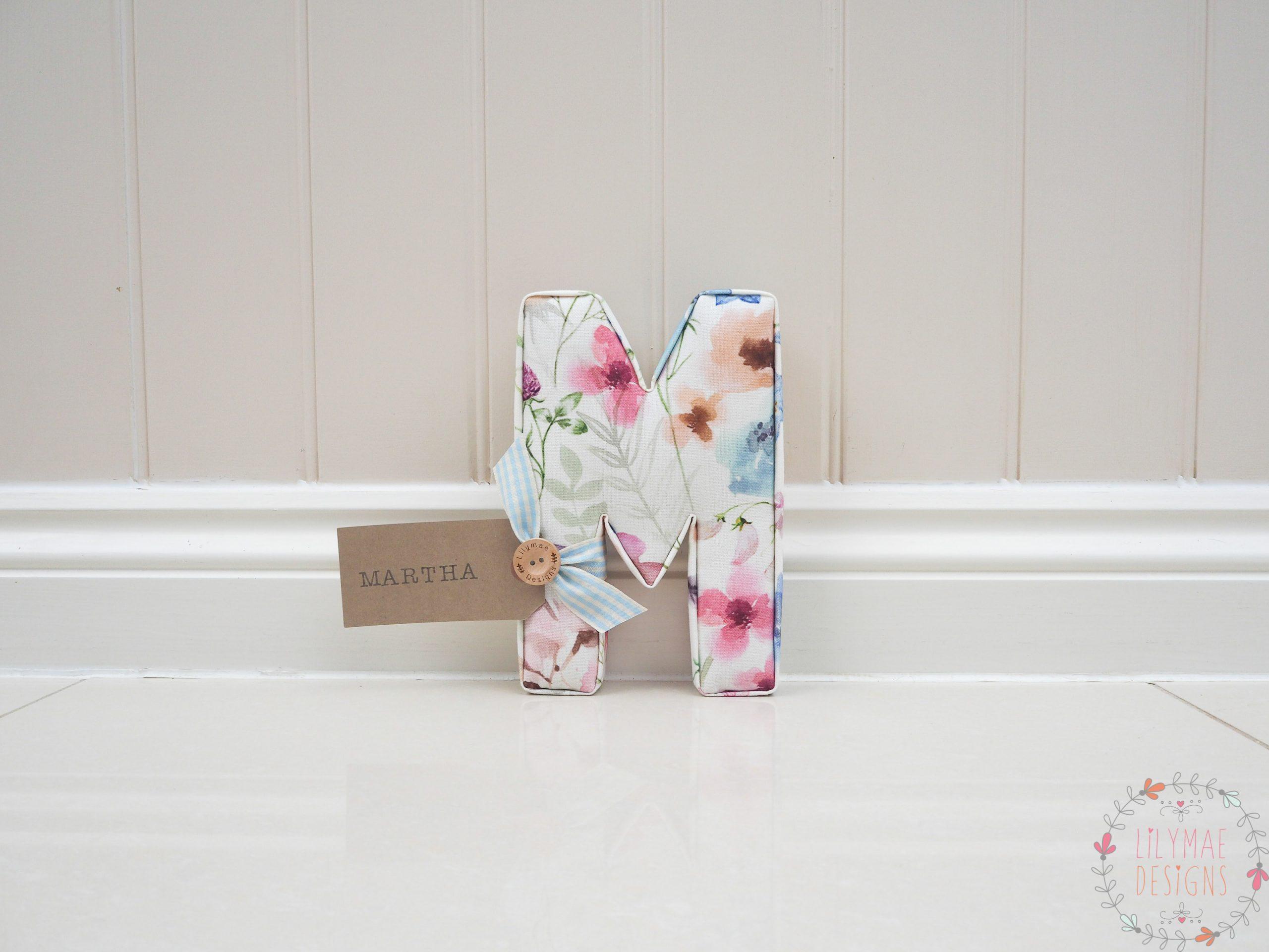 Lolita Multi Cream Individual Letter