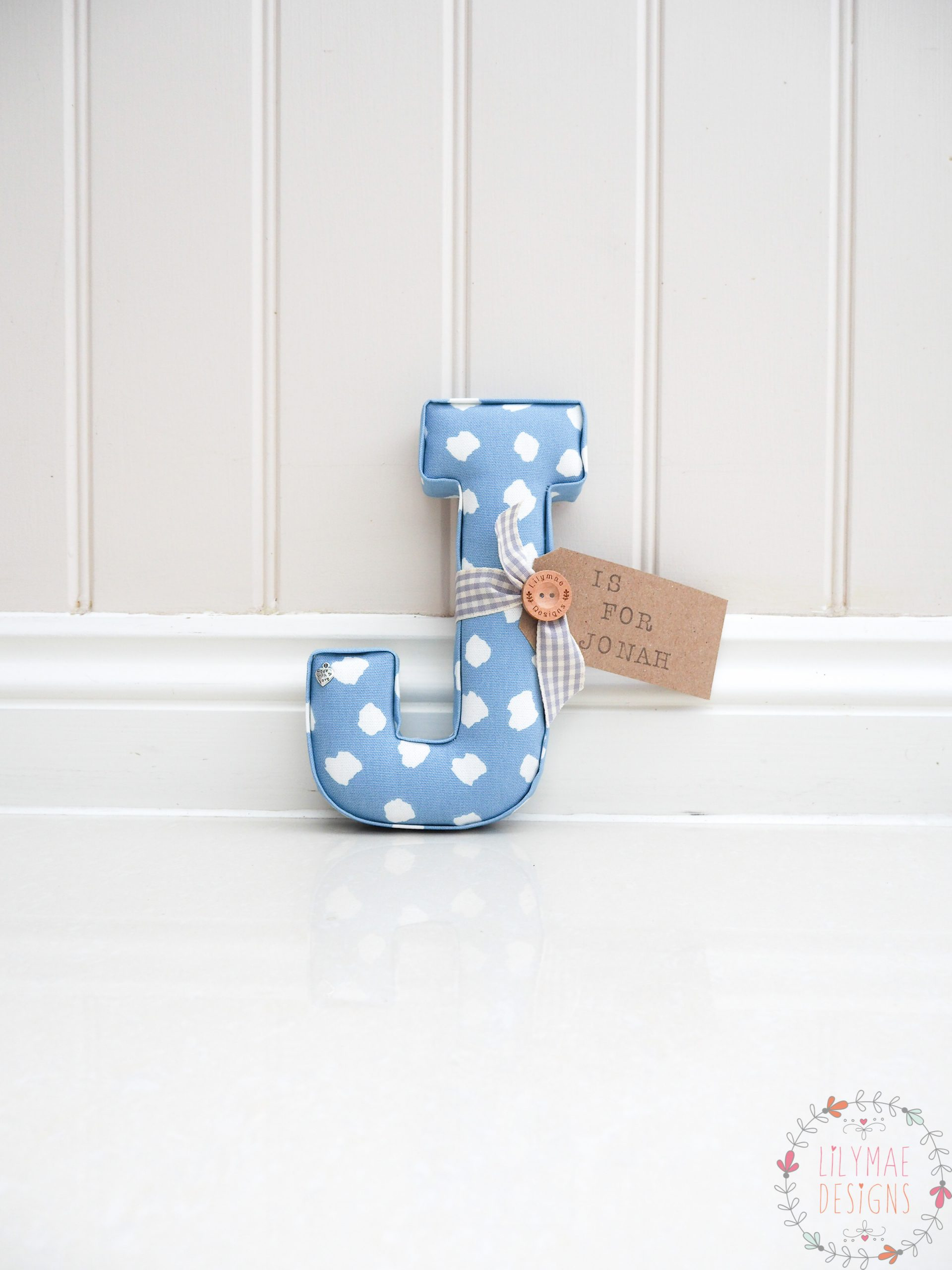 Clio Chambray Individual Letter