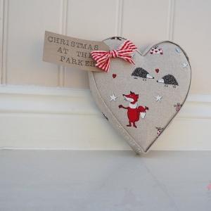Christmas heart teacher present thank you host present xmas gift