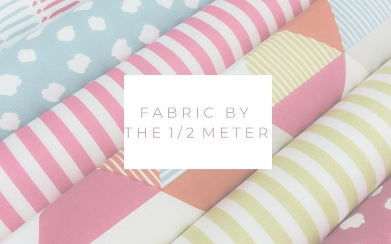 Fabric for sale by the half 1/2 meter