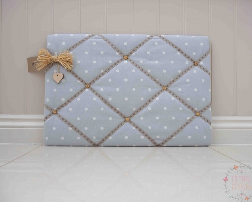 grey memo board mothers day gift, mum present for christmas