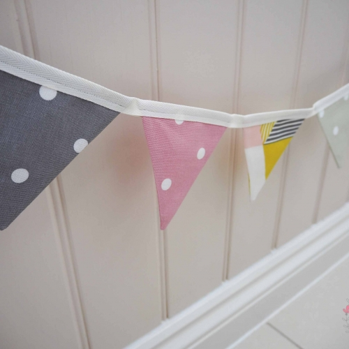 handmade bunting to order Lilymae Designs colchester Essex cot wedding birthday baby shower
