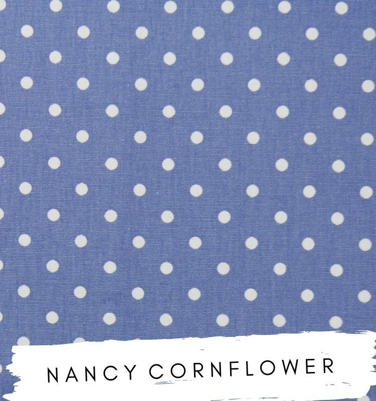 Nancy Cornflower Fabric