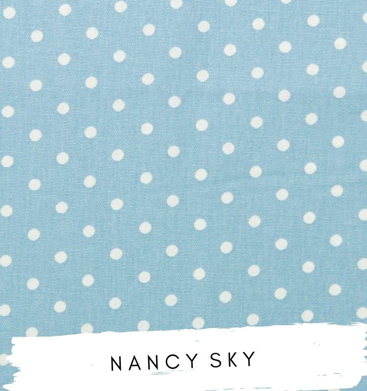 Nancy sky Fabric
