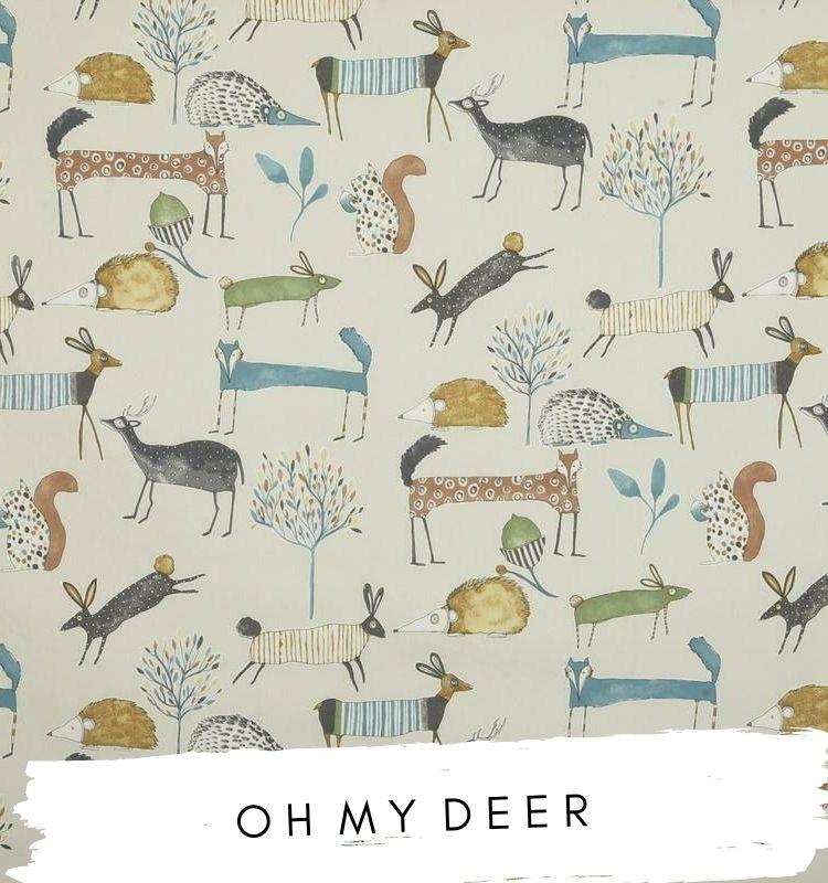 Oh my deer fabric