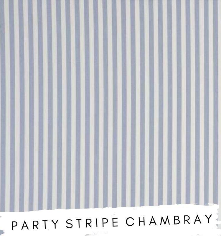 Fabric for letters Party Stripe Chamberry Fabric Studio G Clarke & Clarke Prestigious Textiles ★ Lilymae Designs ★