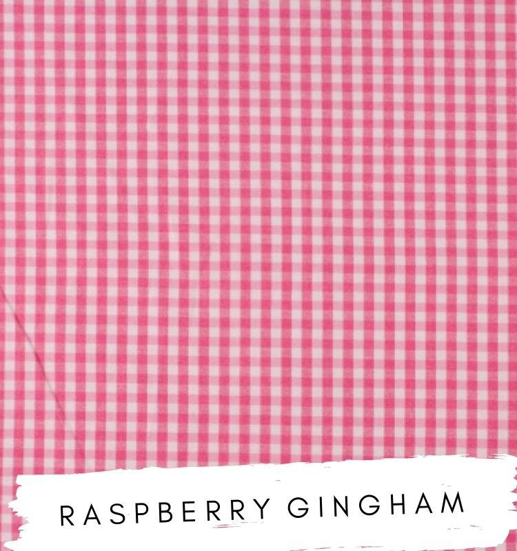 Raspberry Gingham Fabric Studio G Clarke & Clarke Prestigious Textiles ★