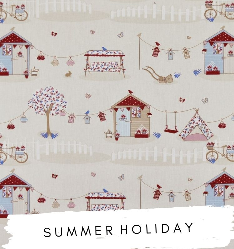 Summer Holiday Fabric Fabric Studio G Clarke & Clarke Prestigious Textiles ★