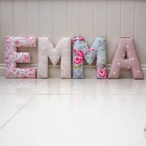 Extra Large Fabric Letters