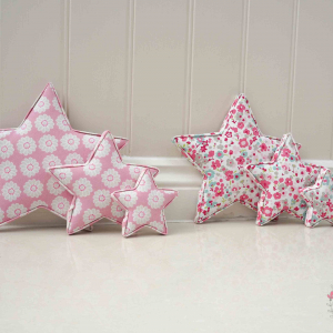 Star Decorations ★ Lilymae Designs ★ We offer many items including Extra Large Fabric Letters in sizes 22cm tall, 25cm tall, 30cm tall, 40cm tall as well as custom sizes on request. Fabric Hearts, Butterflies, Stars, Birds, Bunting, Memo Boards, Extra Large Memo Boards, Cushions, Lampshades, Curtains and Roman Blinds Available in any of our Clarke and Clarke and Prestigious Textiles fabrics. Our personalised custom made to order products make great nursery decor, wall decor and home decor in any room. Also great gifts and presents, new baby, baby shower christening Little brother little sister niece nephew grandson godson granddaughter goddaughter first birthday children's birthday new home teacher dinner party gift mum present sister first home wedding best friends baby boy baby girl flower girl page boy bridesmaid rainbow baby mother's day, Mom, Nan, Auntie, Christmas xmas babys first Christmas daughter son Twins Fraternal Twins Support our small business today, each product is handmade to order here in the UK